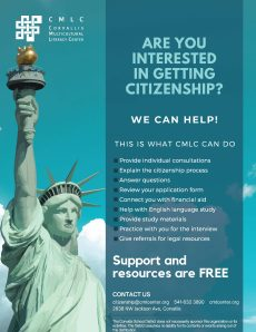 Ongoing citizenship support services for students and their families