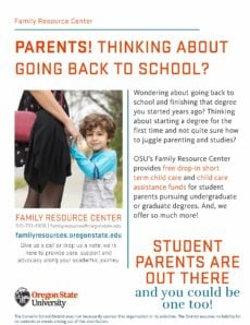Parents: Become an OSU Student!