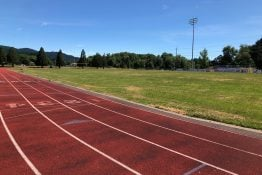 CV Track and infield