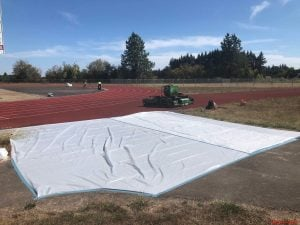 Cheldelin track resurfacing project