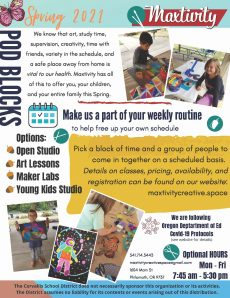 Maxtivity: Arts and Crafts Creative Space