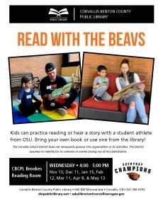Read With the Beavs