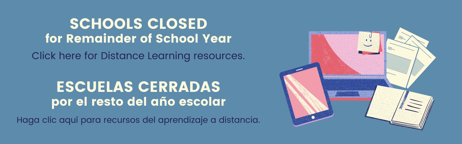 CSD schools closed remainder for 2019-20 school year